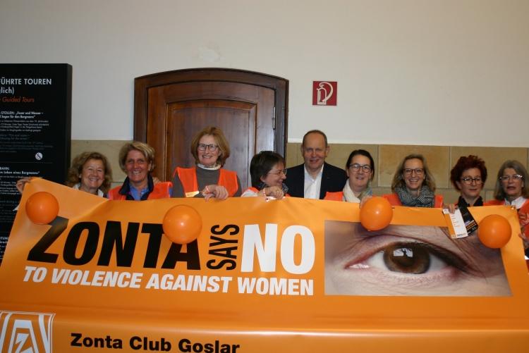 Zonta says NO 2018   Copyright: ZC Goslar