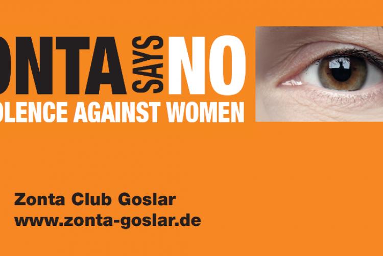 Zonta says NO   Copyright: ZC Goslar