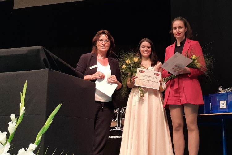 Abiturientinnen-Preis 2021 | © ZC Goslar